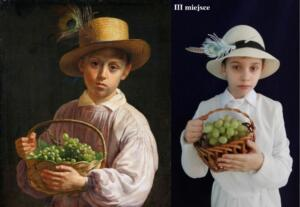 Chłopiec w słomkowym kapeluszu Jan Chrucki