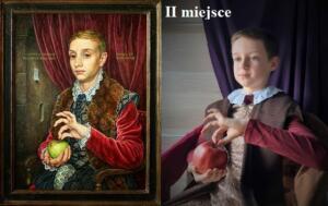Chłopiec z jabłkiem Michael Taylor