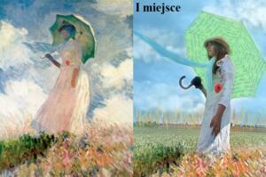 Claude Monet Kobieta z parasolką