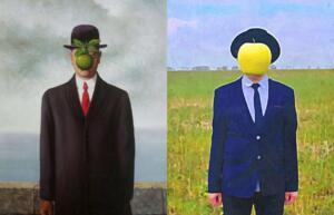 Syn człowieczy René Magritte