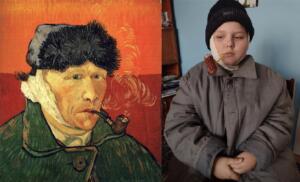 Vincent van Gogh Autoportret z zabandarzowanym uchem